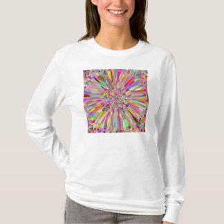 紙吹雪の花の夏 Tシャツ