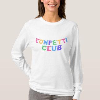 紙吹雪クラブ旗のスエットシャツ Tシャツ