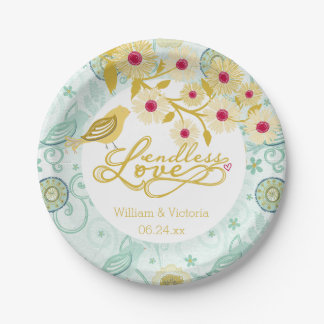 紙皿を結婚するお洒落な無限愛 ペーパープレート