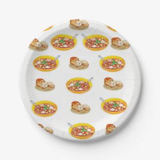 紙皿スープ ペーパープレート