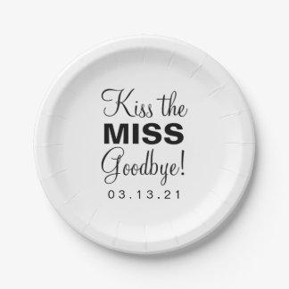 紙皿-失敗に接吻して下さい ペーパープレート