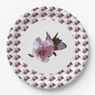 紙皿-桜 ペーパープレート