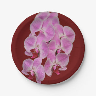 紙皿-蘭 ペーパープレート
