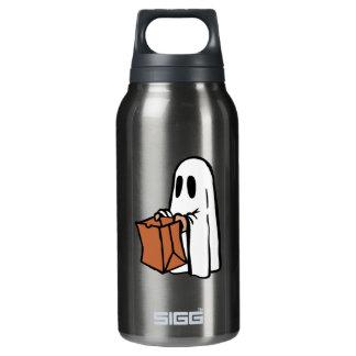 紙袋を持つ幽霊として服を着るトリックかTreater 断熱ウォーターボトル