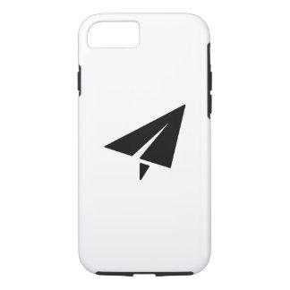 紙飛行機のピクトグラムのiPhone 7の場合 iPhone 8/7ケース