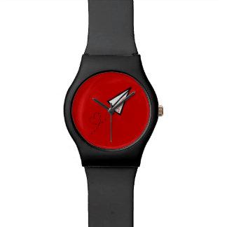 紙飛行機のラブレター 腕時計