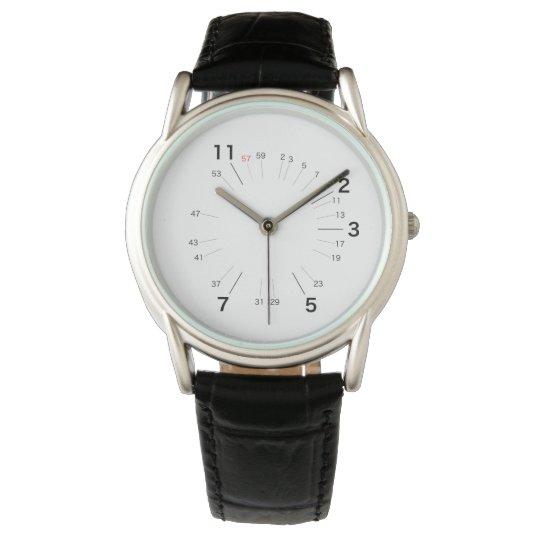 素数しか必要としない人のための腕時計 腕時計