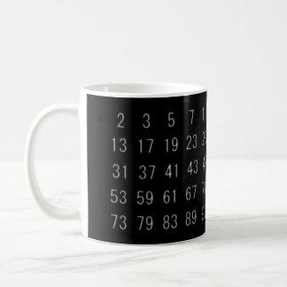 素数の数学の数学者のギークのマグ コーヒーマグカップ