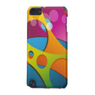 素晴しいカラフル3Dの形の抽象芸術 iPod TOUCH 5G ケース