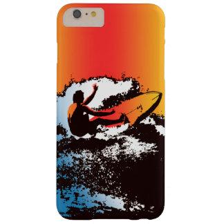 素晴しいハワイのサーファーの60年代のレトロのグラフィック BARELY THERE iPhone 6 PLUS ケース