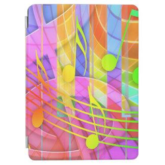 素晴しいミュージカルの抽象芸術 iPad AIR カバー