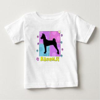 素晴しいBasenji ベビーTシャツ