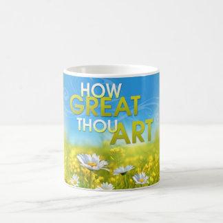 素晴らしいあなたの芸術のマグいかに コーヒーマグカップ