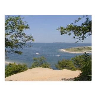 素晴らしいおよびpeacefullのビーチ ポストカード