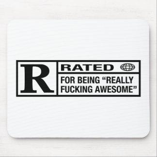 素晴らしいがあることのための評価されるR マウスパッド