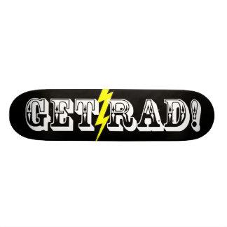 素晴らしいのスケートボードを得て下さい 21.6CM スケートボードデッキ
