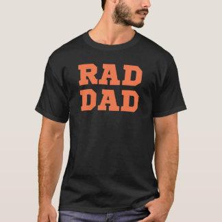 素晴らしいのパパ(オレンジ) Tシャツ