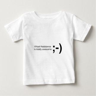 素晴らしいまばたき10x10 ベビーTシャツ