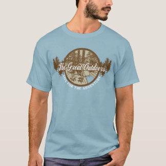 素晴らしいアウトドア Tシャツ
