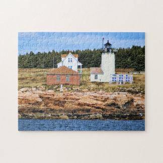 素晴らしいアヒルの島の灯台、メイン ジグソーパズル
