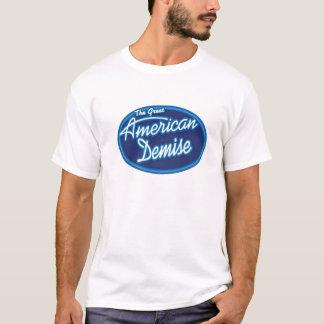 素晴らしいアメリカの死亡の人のT0Shirt Tシャツ