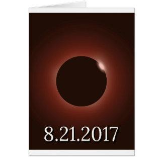 素晴らしいアメリカの総日食2017年 カード