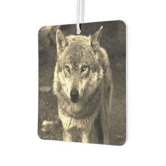素晴らしいオオカミ カーエアーフレッシュナー