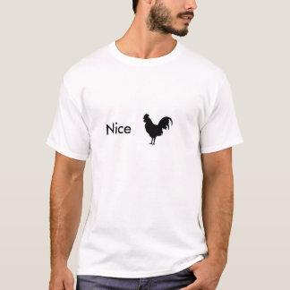 素晴らしいオンドリのワイシャツ Tシャツ