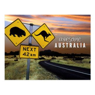 素晴らしいオーストラリア ポストカード