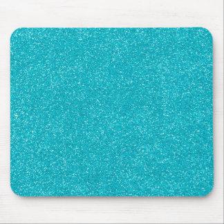 素晴らしいグリッターのPANTONEのスキューバ青 マウスパッド