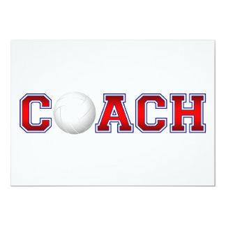 素晴らしいコーチのバレーボールの記章1 カード