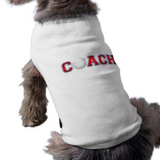 素晴らしいコーチのバレーボールの記章1 ペット服