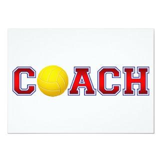 素晴らしいコーチのバレーボールの記章2 カード