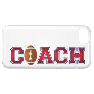 素晴らしいコーチのフットボールの記章のiPhone 5の場合 iPhone5Cケース