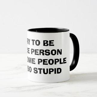 素晴らしいコーヒー・マグがあることを試みて下さい マグカップ
