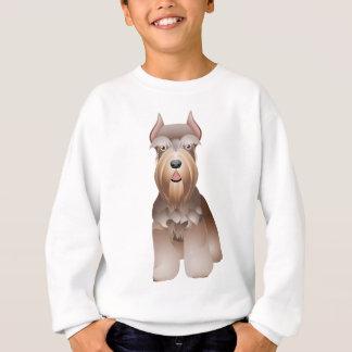 素晴らしいシュナウツァーのTシャツの服装 スウェットシャツ