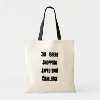 素晴らしいショッピングの探険の挑戦 トートバッグ