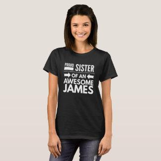 素晴らしいジェームスの誇り高い姉妹 Tシャツ