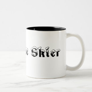 素晴らしいスキーヤーのマグ ツートーンマグカップ