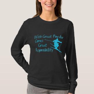 素晴らしいスキー Tシャツ