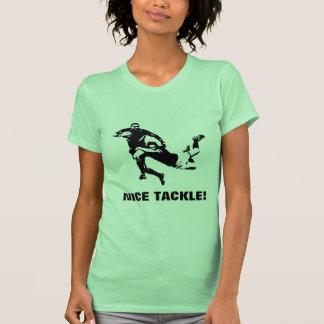 素晴らしいタックル、ラグビー Tシャツ