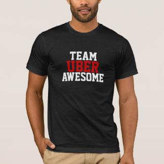 素晴らしいチームUber Tシャツ