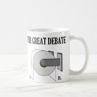 素晴らしいトイレットペーパーの浴室の討論 コーヒーマグカップ
