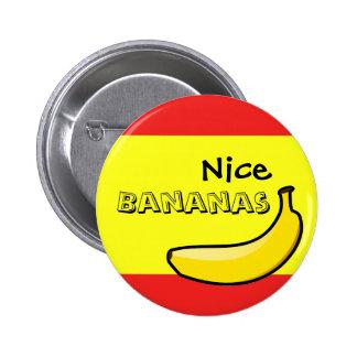 素晴らしいバナナ 5.7CM 丸型バッジ