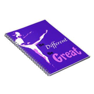 素晴らしいバレエのノートがあって下さい ノートブック