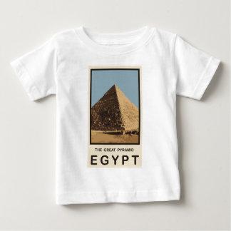 素晴らしいピラミッドエジプト ベビーTシャツ