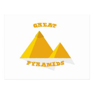 素晴らしいピラミッド ポストカード