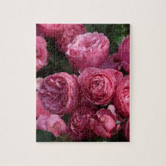 素晴らしいピンクのバラ ジグソーパズル