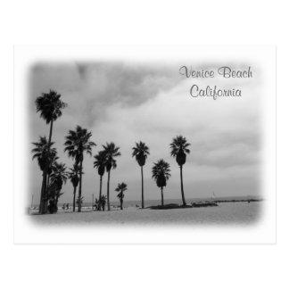 素晴らしいベニスのビーチの郵便はがき! ポストカード