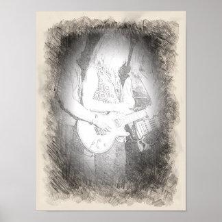 素晴らしいミュージシャンの姿勢 ポスター